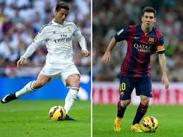 Messi v Ronaldo Rivalry #1