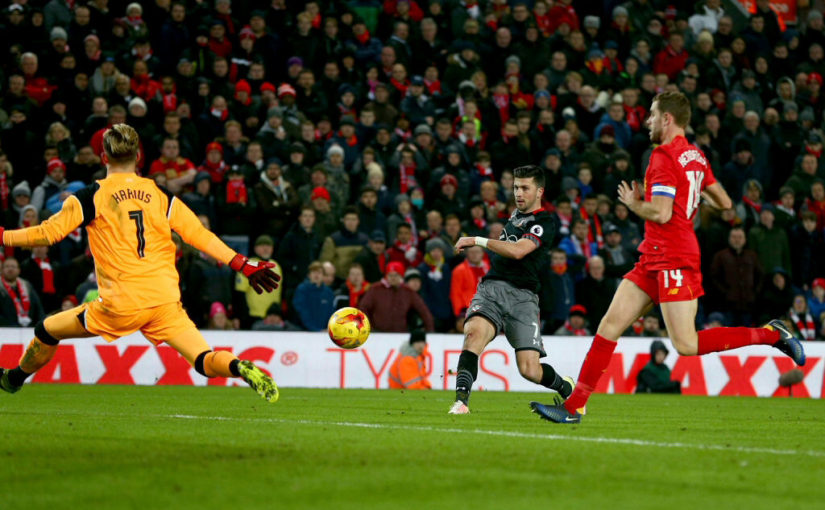 Liverpool vs Southampton EFL Cup semi-final match report