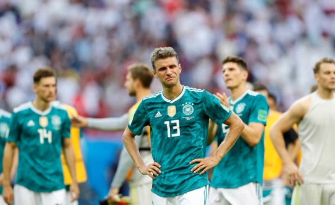 Germany crash out of World Cup!